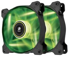 Corsair Air Series SP120 High Static Pressure Fan (120mm) with Green LED (Twin
