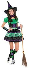 Wicked Cool Witch Girls Teen School Uniform Style Halloween Costume