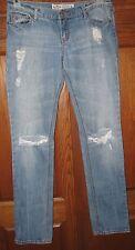 HOLLISTER Jeans Juniors Sz 5R Boot Cut 5 Pocket Destroyed Look EUC     043:qq-20