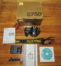 Nikon D750 Bundle (Body Only) -Brand New Shutter from Nikon