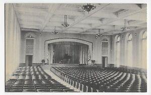 Inn at Buck Hill Falls PA Auditorium Interior Vintage Postcard
