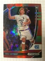2020-21 Cole Anthony Prizm Draft Picks #49 Red Rookie RC /299