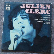 Julien Clerc, le delta,  EP - 45 tours