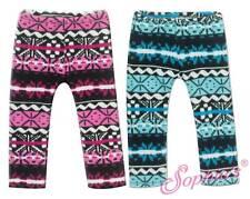 "Alpine Printed Blue Knit Leggings Tights Pants fit 18"" American Girl Doll"
