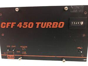 ALCATEL MODEL CFF 450 TURBO PUMP CONTROLLER