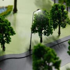10pc LED Light Lamppost Model Train Railway Diorama Street Lamp Scenery 3V N