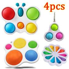 4x Sensory Fidget Toys Set Stressabbau Anti-Angst Baby Simple Dimple Toy DE