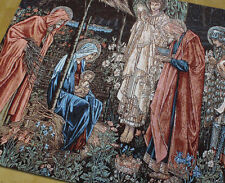"Belgium tapestry decorative paintings Three dynasties to congratulate 54""x39"""