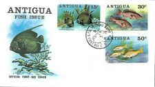 ANTIGUA 1976 FIRST DAY COVER, FRENCH ANGELFISH