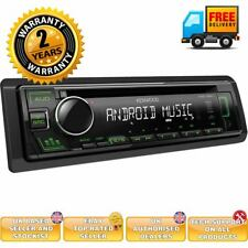 Kenwood KDC-130UG - CD MP3 USB RDS Radio Receiver GREEN Key Illumination