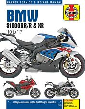 BMW S1000RR S1000R & S1000XR 2010 - 2017 Haynes Manual 6400
