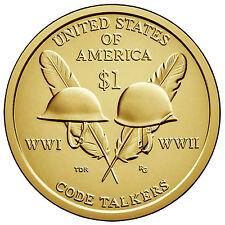 2016 NATIVE AMERICAN (CODE TALKERS) DOLLAR P&D SET ****IN STOCK****