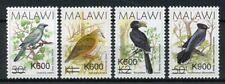Malawi 2017 MNH Birds Overprint OVPT 4v Set Doves Hornbills Stamps