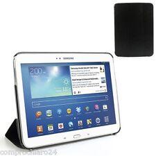 Custodia Pieghevole Nera in Ecopelle per Samsung Galaxy Tab 3 10.1 - Cover