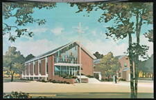 SEABROOK MD Baptist Church Dubarry Ave Rd Vtg Postcard