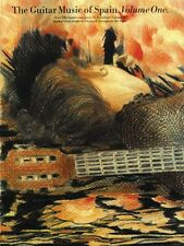 The Guitar Music of Spain Volume 1 Sheet Music Book NEW 014013514