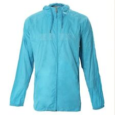 Men's Burton Champ Windbreaker Wind Rain Jacket Coat Electric Blue Size Large L