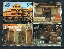 India 2009 Heritage Monuments Blk 4 SG 2566/9 MNH