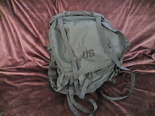 Field Pack Large Size U.S. Military Green Nylon w/Drawcord & Seven Pockets