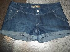 TYTE JUNIOR'S SIZE 9 DENIM MINI SHORTS BLUE SHORT SHORTS SHORT PANTS LOW RISE