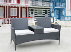 Outdoor Patio Sofa Set Rattan Wicker Table Chairs /w Couch Garden Furniture