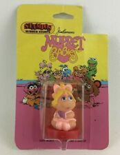 Muppet Babies Rubber Stamp Miss Piggy Vintage 1984 Safe Non-toxic Jim Hensons