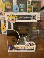 Lamar Jackson Funko POP Baltimore Ravens NFL 100 MVP Brand New