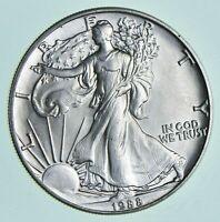 Better Date 1988 American Silver Eagle 1 Troy Oz .999 Fine Silver BU Unc