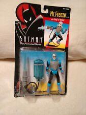 1993 Kenner Batman The Animated Series MR. FREEZE Figurine W/ Ice Blaster B New