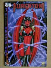 2002 CHAOS COMICS PURGATORI: GOD KILLER #1 & #2 LOT OF 2