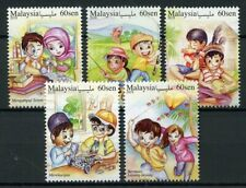 Malaysia 2018 MNH Lifestyles Hobbies Philately Fishing 5v Set Cultures Stamps
