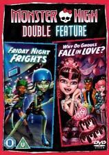 Monster High : Friday Night Frights / Why Do Ghouls Fall In Love? (DVD 2013)