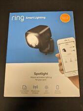 Brand New Ring Smart Lighting Battery-Powered 400-Lumen LED Spotlight - Black