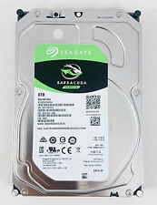 "Set of 8 Seagate Barracuda ST8000DM004 8 TB 256M Cache 3.5"" SATA 6GB/s HDD"