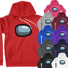 Among Us Halloween Costume Cosplay Video Game Funny Meme Sweater Pullover Hoodie