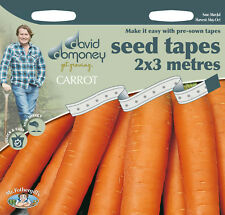 David Domoney Get Growing Carrot Seed Tapes