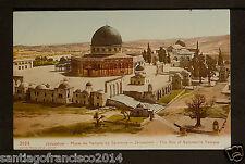 ISRAEL 52-Jerusalem -Place du Temple de Salomon - The Site of Salomon's Temple.