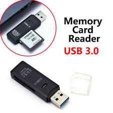 2in1 USB 3.0 High Speed Memory Card Reader Adapter For Micro SD SDXC TF T-Flash