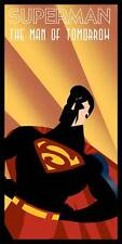 Superman The Man of Tomorrow Affiche Édition Limitée Imprimé Rodolfo Reyes