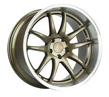 19x9.5/19x11 AodHan DS02 5x114.3 +15/22 Bronze Wheels (Set 4)