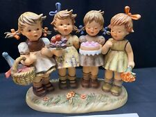 """Goebel Hummel """"We Wish You The Best"""" #600 ~ Century Collection (no box)"""