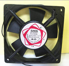 SUNON 80mm AC 220V - 240V Aluminum Cooling Fan Computer 80 x 80 x 25mm [DORL_A]