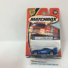 Dodge Viper GTS R #10 * BLUE * Matchbox MXB * g12