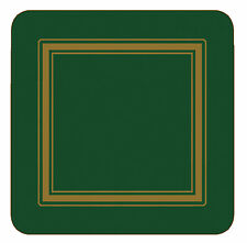 Pimpernel Klassisch Smaragdgrün Untersetzer 6er Set Korken hochwertig neu