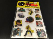 Dick Tracy Puffy Stick-Ons -1990- Imperial Walt Disney Vintage Dick Tracy