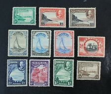 Ckstamps: Gb Stamps Collection Bermuda Scott#105-114 Mint H Og