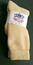 US Military Grade Men's Beige Wool Blend Socks DSCP Size 9 SP0100-97-0-0330