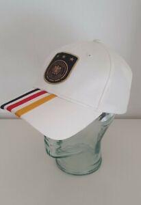 Adidas DFB 3S Basecap Deutschland Fussball-Bund, weiß, neu