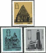 Lituania 511-513 (completa edizione) MNH 1993 Architettura