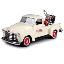 Maisto 1:25 1950 CHEVROLET 3100 PICKUP Harley Davidson 2001 FLSTS HERITAGE MODEL